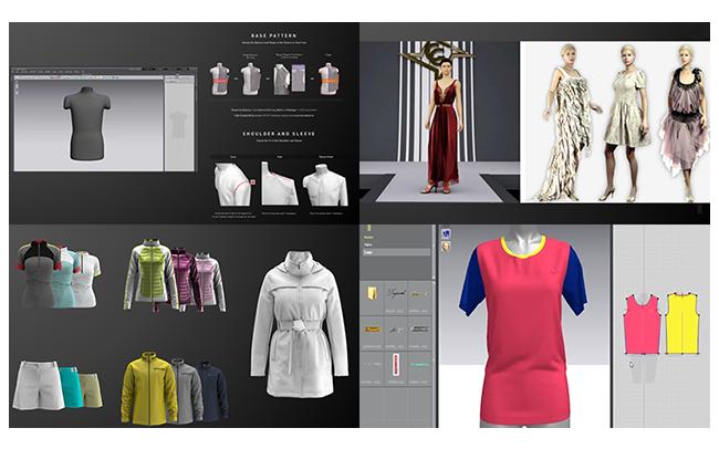 服装虚拟仿真设计系统